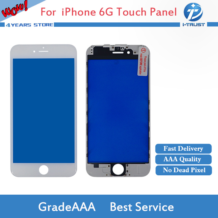 AAA Quality Touch Panel for iPhone 6 6G 6S or 7 7G Front Glass Touch Screen