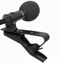 Mini Stereo HiFi Sound Quality Lavalier Clip-on Condenser Microphone