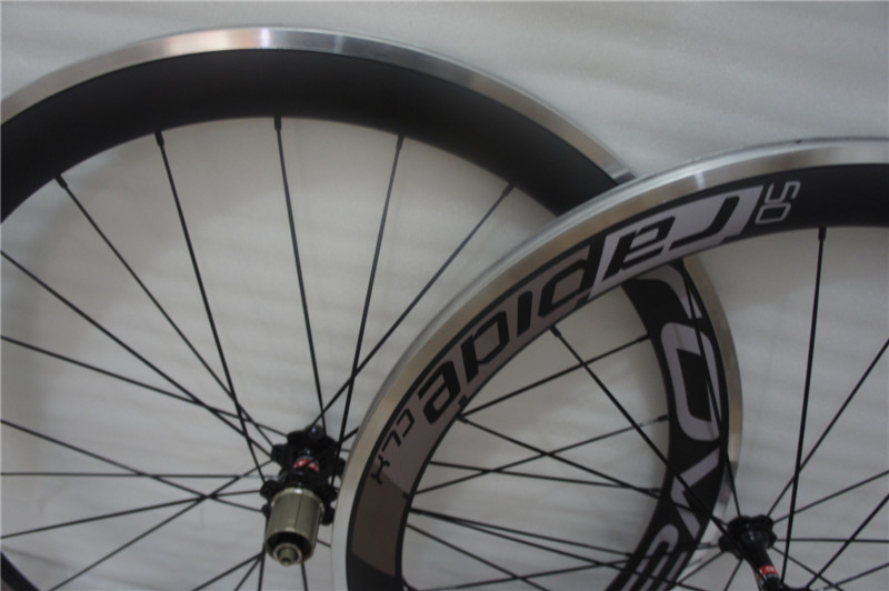 18 model decals 700C 23mm width carbon 60mm road bicycle wheel alloy brake surface 700c (20/24 holes) road wheels ironfix 568 60 700