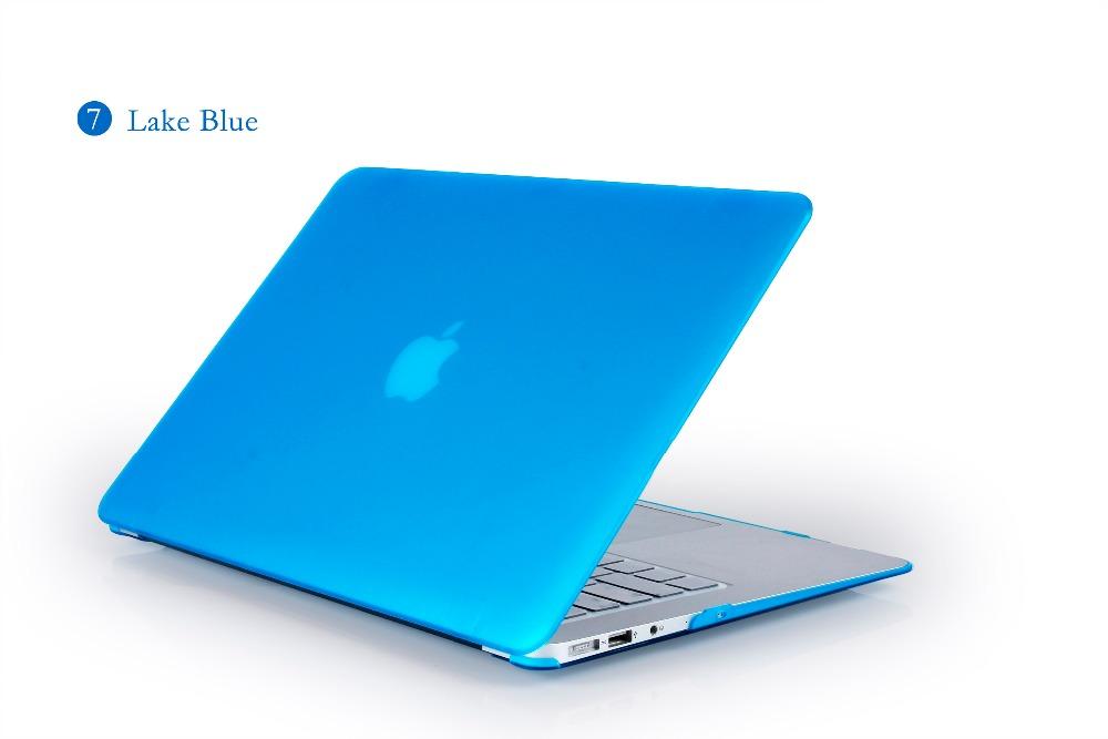 JUNWER CrystalMatte Transparent Case For Apple Macbook Air Pro Retina 11 12 13.3 15 For Macbook Air 13 A1932 Laptop Case Cover 36