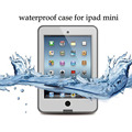 For iPad mini 1/2/3 Retina Waterproof Shockproof Durable Dirt Snow Proof Outdoor Protect Case Cover Kids Fundas w/Retail Package