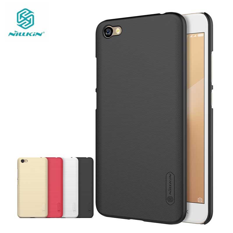 Nillkin Xiaomi Redmi Note 5A Case Redmi Y1 Lite Case Frosted Shield Hard Back Cover for Xiaomi Redmi Note 5A Gift Film