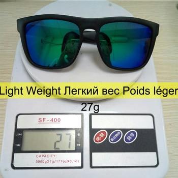 Men Polarized TR90 Sunglasses Vintage Anti-UV Driving Driver Black Goggles Eyewear Rectangle Shades Men Oculos masculino Male 8