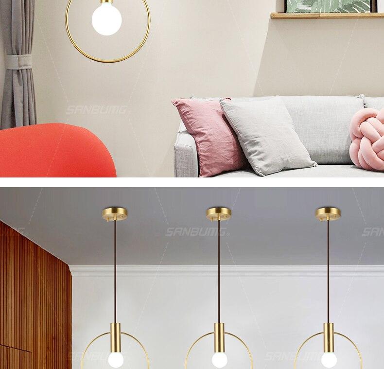 Dourado E14 Base para Sala de estar
