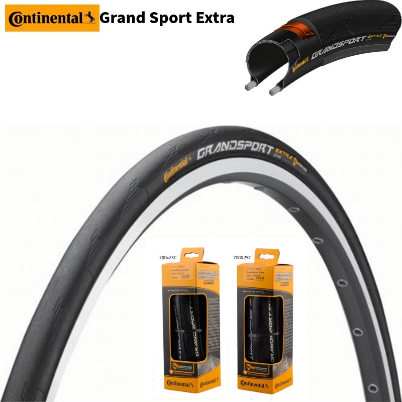 Continental Grand Sport Race 700 x 23C Road Bike Foldable Tire Tyre BOX