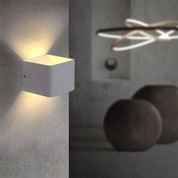 110 v 220 v 3 w Aluminium Led Kinkiet Oprawa Światła Arandela Lamparas De Pared Lamparas Decoracao Quarto Ściany kinkiet Lamba 02 w Wewnętrzne kinkiety LED od Lampy i oświetlenie na