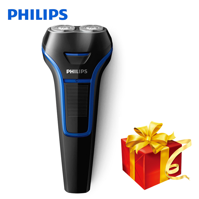 Philips Electric Shaver S100 Rotary Rechargeable Portable Handle Body Washable Men's Electric Razor With Ni-MH Battery philips s5080 electric razor multifunctional washable shaver