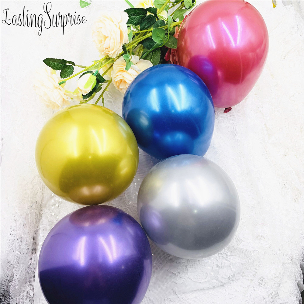 20pcs 5inch Metal Latex Balloons Thick Metallic Ballon Inflatable Air Globos Wedding Birthday Party Decoration Balloons Special Deal 0fba Aldroinstitutet