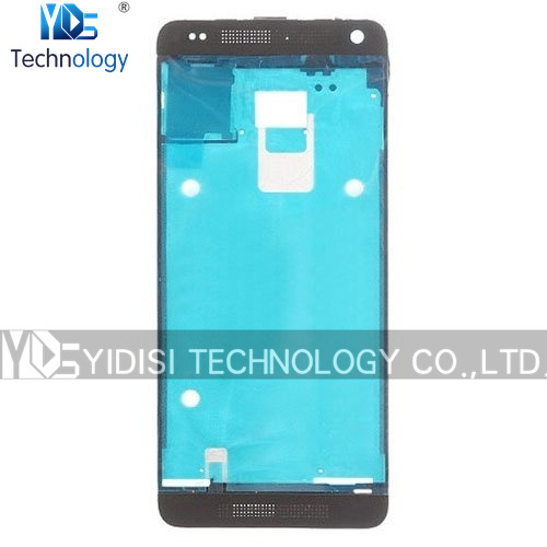 1PCS NEW For HTC One mini 2 / M8 mini Front Housing LCD Frame Bezel Plate Holder Replacement Parts White/Black