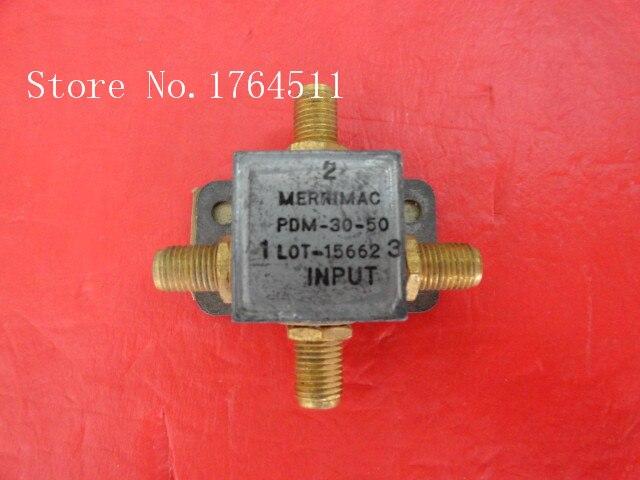 [BELLA] A Three MERRIMAC Power Divider PDM-30-50 DC-200MHz SMA
