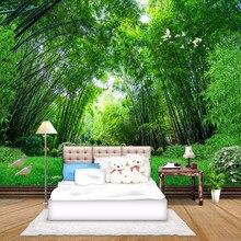 estar de verde bambú