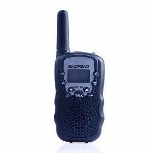 Image 5 - 2Pcs Baofeng Mini Walkie Talkie Kids Radio Portable 2W Two Way Radio Handheld Children Transceiver Toys Radio Gift T3 BF T3