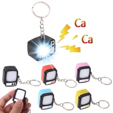 Buy HBB Creative Television LED Keychain Key Holder Mini TV Sound Light Up Decor Gift NEW directly from merchant!