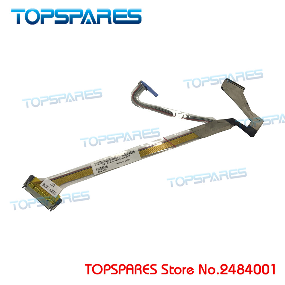 Computer & Office Nice New Laptop For Dell Latitude D820 D830 M65 D531 15.4 Lcd Screen Flex Cables Cn-0gf120 0gf120 M4300 D531