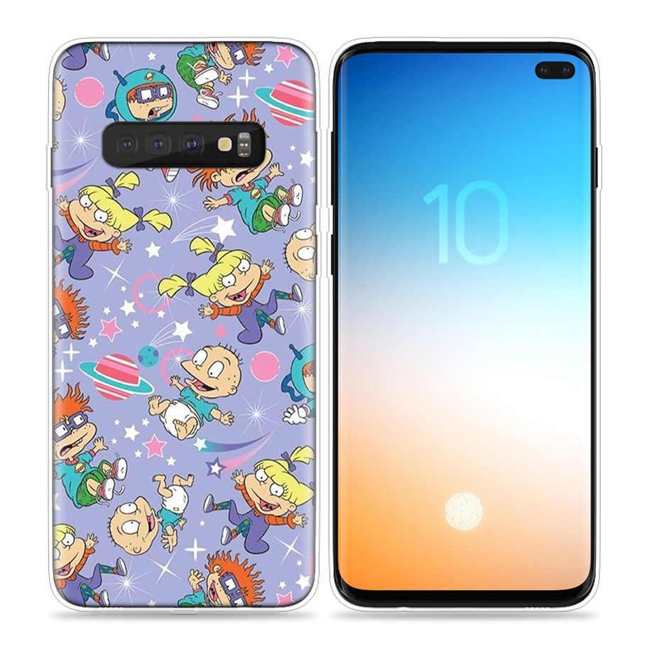 Rugrats удивительные чехол для samsung Galaxy S10 5G S10e S8 S9 S7 Note 8 9 J4 J6 + плюс J5 J8 2018 силиконовый чехол для мобильного телефона чехол Fundas Capa