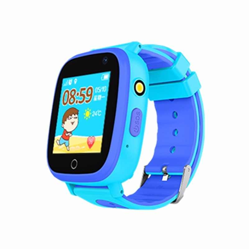 "Kids watches waterproof IP67 HD 1.44"" screen flashlight  SOS  Location for Children clock Q11"