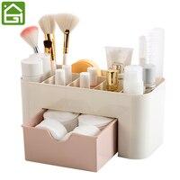 Cosmetic Jewelry Organizer Office Storage Drawer Desk Makeup Case Plastic Makeup Brush Lipstick Remote Control Holder