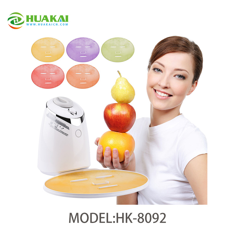 Mask Maker Machine Automatic Fruit Facial Mask Maker Homemade DIY Natural Vegetable Mask With Collagen diy natural face mask machine automatic fruit facial mask maker vegetable collagen mask english voice machine face skin care