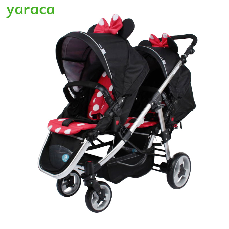 Stroller For Twins Minnie Mouse Lightweight Baby Stroller