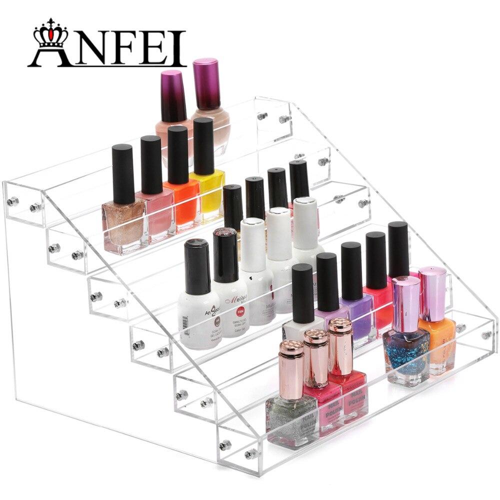 ⊹6 capas almacenamiento cosmética Esmaltes de uñas caja joyería ...