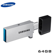 SAMSUNG USB 3.0 OTG 64 GB Smartphone Tablet PC USB Usb-flash-laufwerke U DISK Storage Pen Drive Memory Stick 100% ORIGINAL