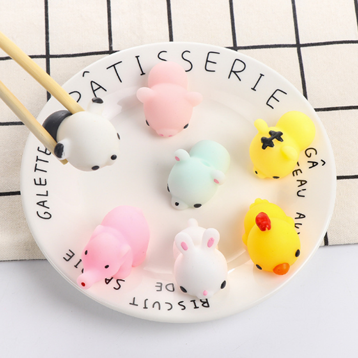 1 Pcs New Fun Novelty Antistress Squeeze Ball Toy Cute Seals Owl Emotion Vent Ball Resin Doll Stress Reliever Toys Commodities Are Available Without Restriction Gags & Practical Jokes