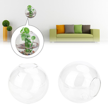 Small Size Wall Hang Glass Flower Vase Terrarium Container Plant Bottle Home Garden Office Decor Hang The Glass Vase Bedroom