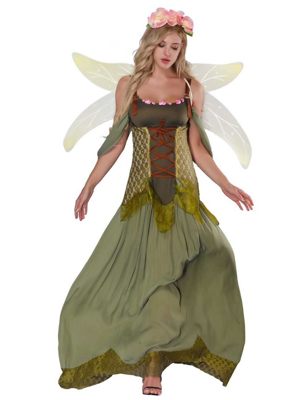 d7bc33500d0 Womens Fairy Halloween Costumes & Fairy Costume Women Forest ...