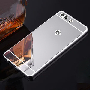 Soft Cell Phone Case for huawei P8 P9 P10 P20 Pro Lite Plus Honor 8 9 10 Play Lite Mate 8 9 10 Lite 2017 mirror Ultra thin Cover(China)