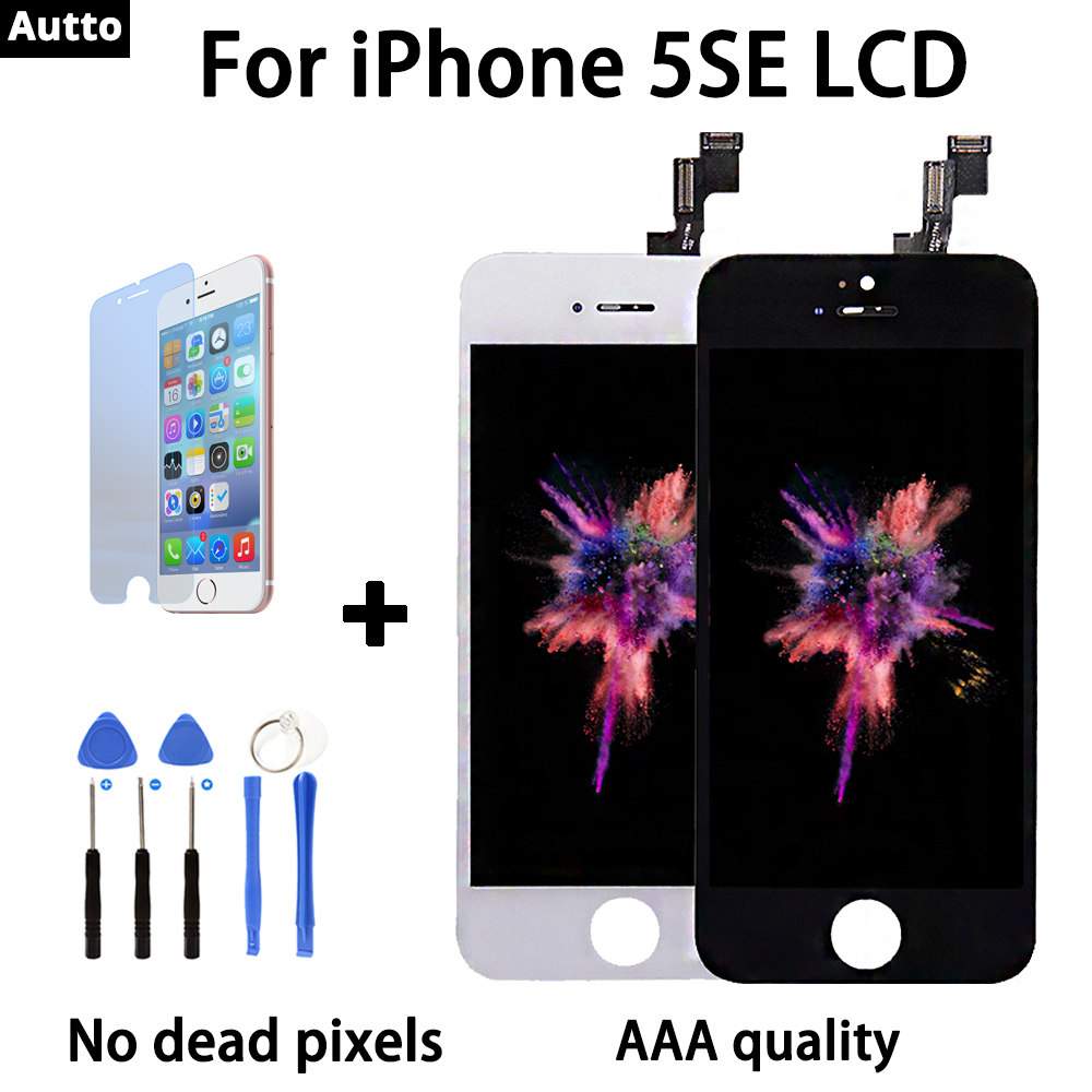 100% test AAA quality for iPhone 5se LCD screen replacement 100% brand new display free shipping black white plus teardown tool100% test AAA quality for iPhone 5se LCD screen replacement 100% brand new display free shipping black white plus teardown tool