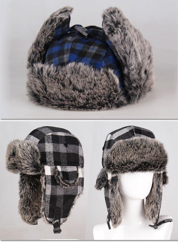 61b7db70719 HTB1lEZzMVXXXXbgapXXq6xXFXXXW Wholesale Hot Sale Bomber Hats Ushanka  Russian Hat Fur Winter Hats sports snow outdoor aviator