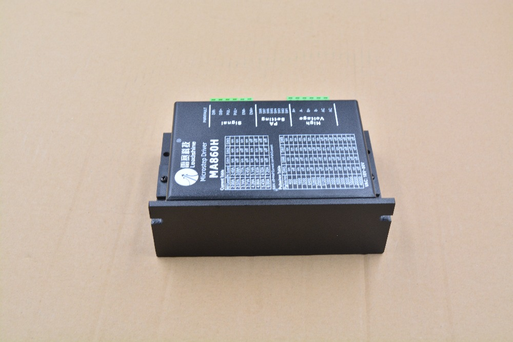 Leadshine stepper driver MA860H microstep driver 2 phase VAC18 80V stepper motor driver for CNC Router