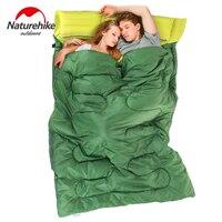 Naturehike Outdoor Camping Adult Sleeping Bag Double Waterproof Keep Warm Thre Seasons Spring Summer Sleeping Bag