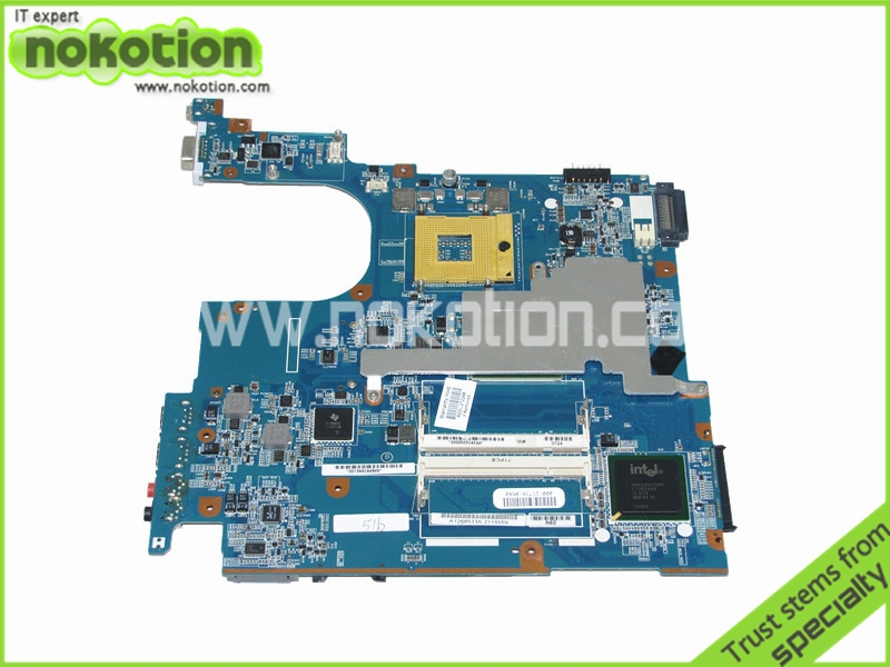 A1268533A Laptop Motherboard for Sony VAIO VGN-N365E MBX-160 intel 945GM DDR2 1P-0071200-6010 Mainboard Mother Boards