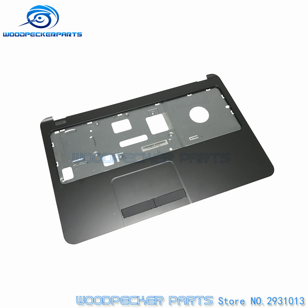 New C cover for HP 250 255 256 G3 15-G 15-H 15-R 15-T 15-Z bezel Palmrest topcase Upper cover w/Touching 754214-001 768276-001 neworig keyboard bezel palmrest cover lenovo thinkpad t540p w54 touchpad without fingerprint 04x5544