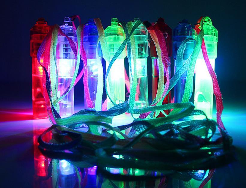 Bunte Leuchtende Led Blinkt Pfeife Spielzeug Festival Und Party Neuheit Produkte Versandkostenfrei