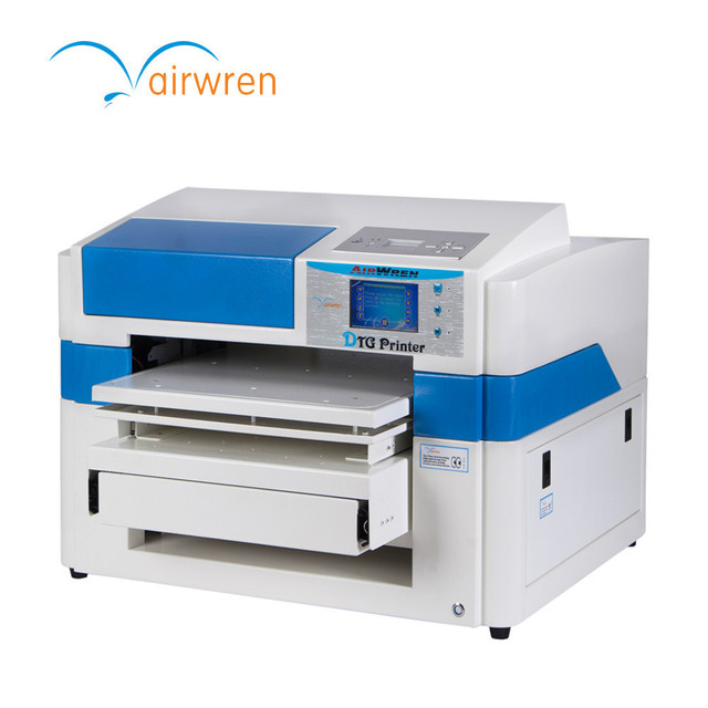 Ce Certification Full Color T Shirt Digital Printing Machine Direct To Garment Printer