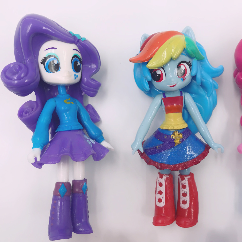 My Little Cute Pony Girl Figurines 13cm 19