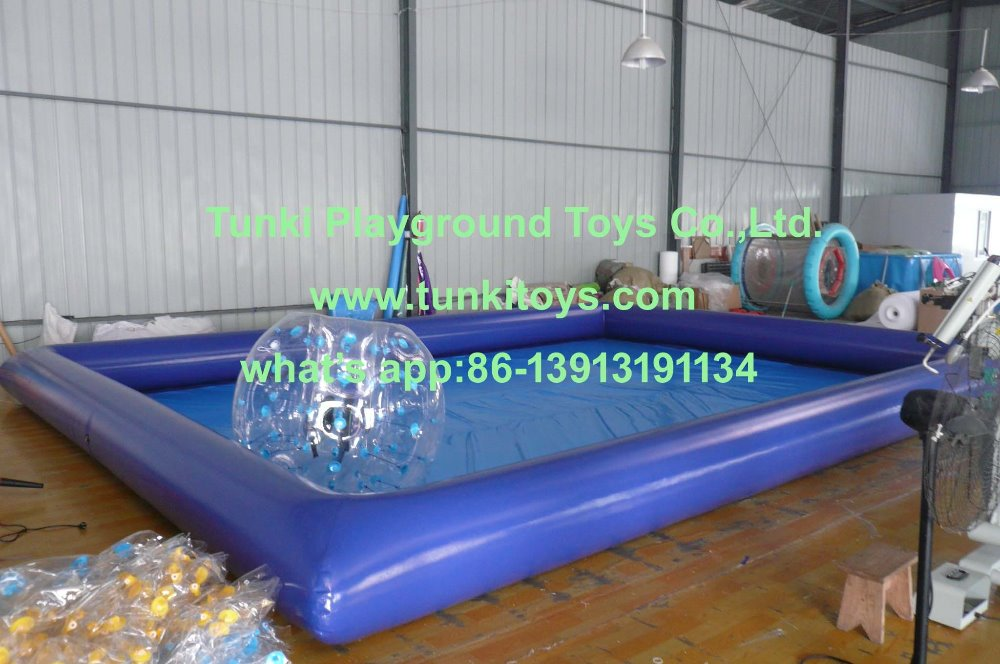 6805m rectangle inflatable pool pvc waterproof swimming pool