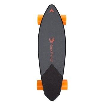 Электрический скейтборд одномоторный 22 км скорость 500 Вт Водонепроницаемый диапазон 16 миль скейтборд с упаковкой