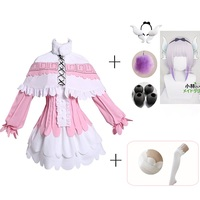 Japanese Anime Miss Kobayashi's Dragon Maid Kamui Kanna Cosplay Costume Women Halloween Party Dress Outfits with Accessories