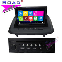 TOPNAVI Wince 6 0 Double Din 8Inch Car Head Unit DVD Player For Peugeot 3008 Stereo