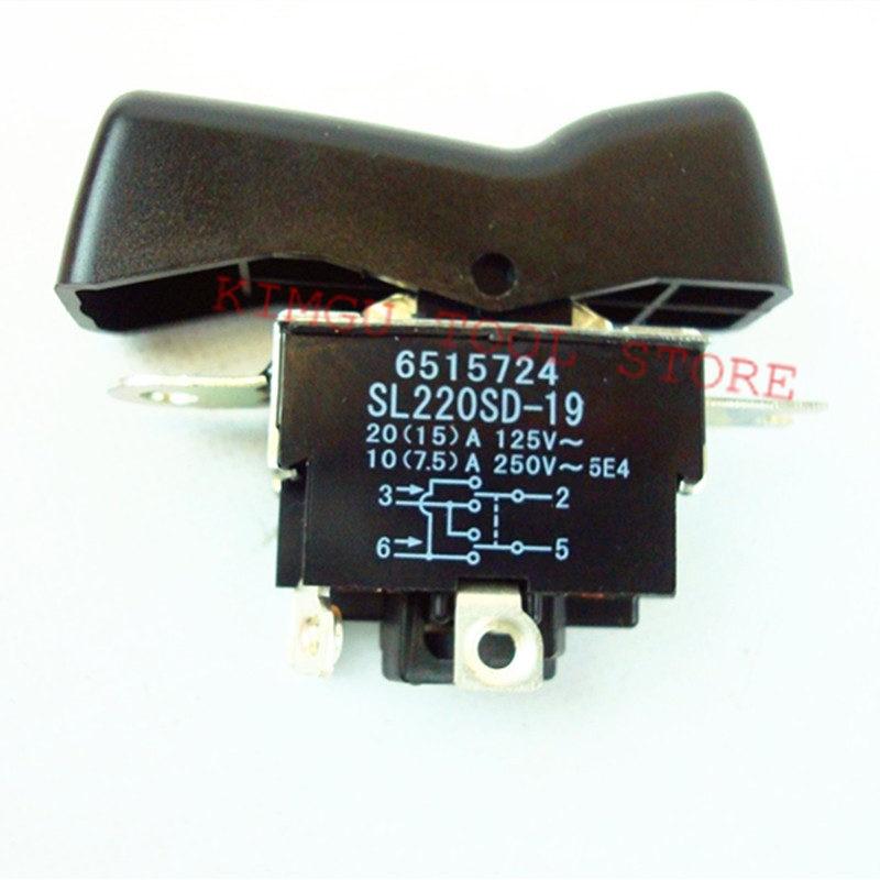 Interrupteur pour Makita 651572-4 DTW450RMJ DTW450RFE 6515724 DTW450Z TW1000_2 TW1000_1 TW1000 TW0350_1 BTW450Z TW1000 TW0350