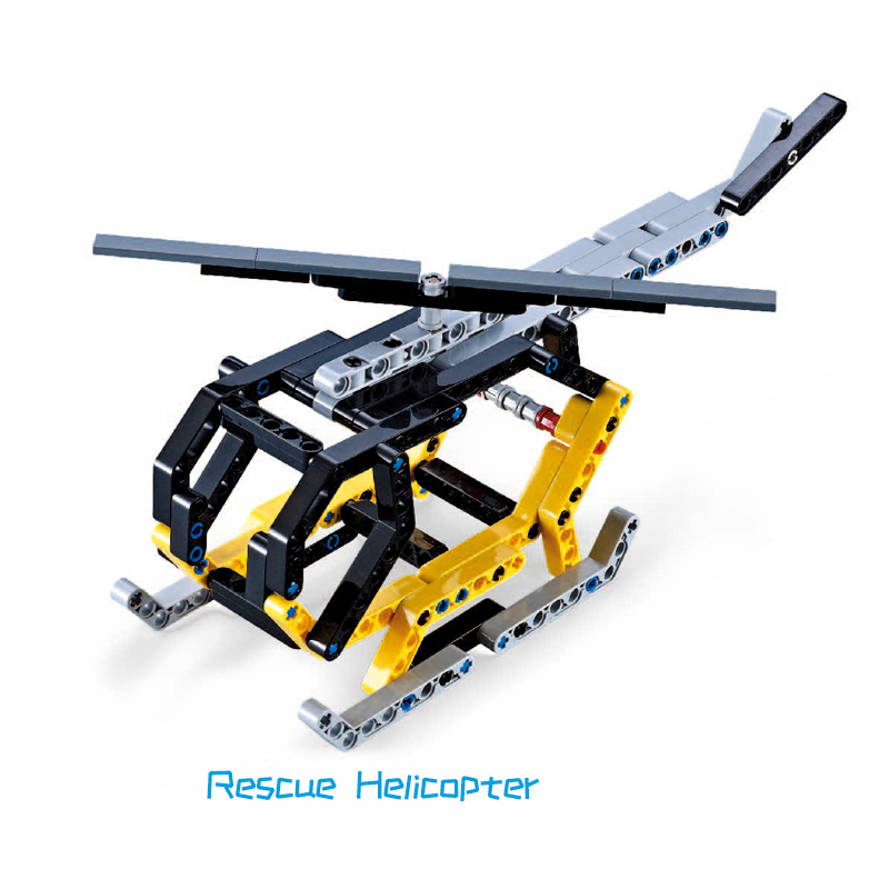 Technic Series Plane Aircraft Building Block Enlighten DIY Toy Compatible with LegoINGlys Classic Educational Toys 219pcs enlighten 813 military series amphibious vehicle building block 272pcs diy educational toys for children compatible legoe