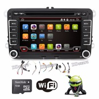 2 Two Din Aux Gps Quad Core Android 4 4 Car Dvd Player Pc Gps Navigation