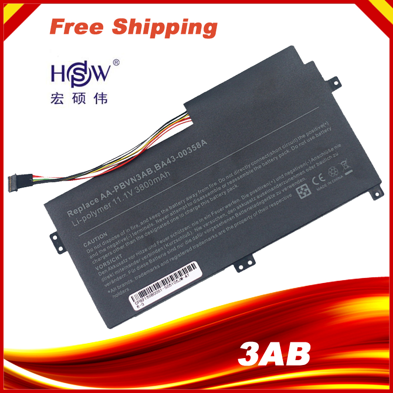 HSW Laptop Battery For Samsung ATIV Book 4 470R5E  3370R4E  3370R5E  5510R5E  NP370R4E  NP370R5E  NP370R5e  NP450R4V  NP450