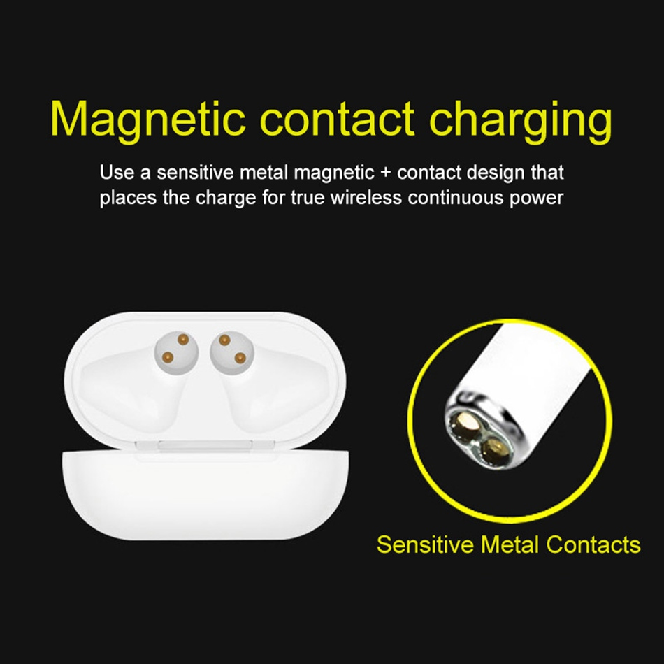 CASEIER i12 TWS Wireless Bluetooth Earphone HIFI Wireless Earphones With Charging Box Auriculares bluetooth inalambrico Headset