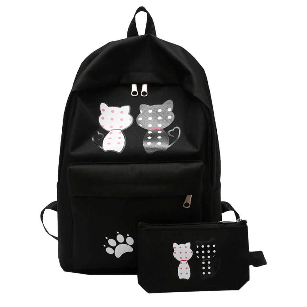 Backpack Women Children Schoolbag Back Pack Leisure Korean Ladies Knapsack Laptop Travel ...