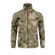Quick Drying Outdoor Ultra-Thin Windstopper Anti-UV Hooded Camouflage Men Jacket Windbreaker Trekking Mountain Sport Coat Men