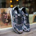 Fall Men's casual shoes breathable shoes Korean version of the influx of young students camouflage shoes wild